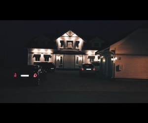 cars, family, and house image
