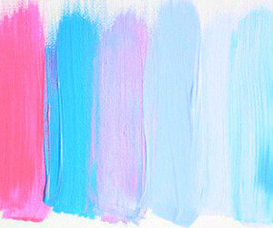 art, pink, and blue image