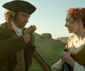 demelza, poldark, and ross image