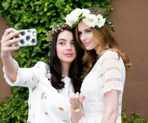 bridesmaid, wedding, and reign image