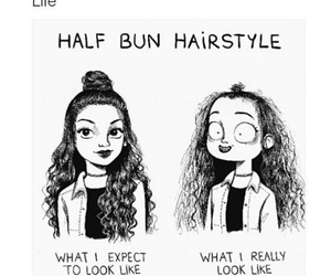 hair, hairstyle, and lol image
