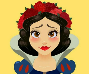 princess, disney, and snow white image