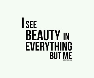 beauty, quotes, and sad image
