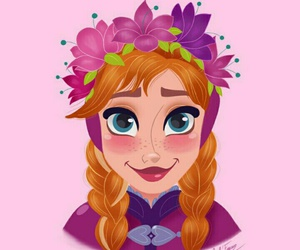 disney, princess, and anna image