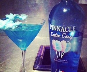 drink, alcohol, and cotton candy image