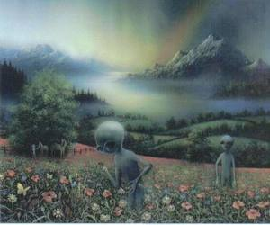 alien, art, and et image