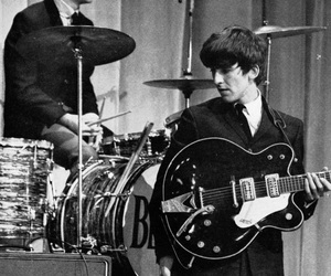beatles, george harrison, and ringo starr image