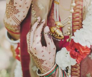 bridal, henna, and hands image