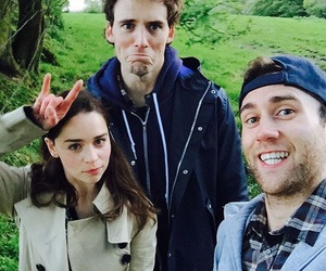 emilia clarke, me before you, and Matthew Lewis image