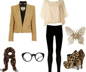 beautiful, blazer, and butterfly image