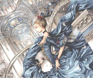 anime, girl, and princess image