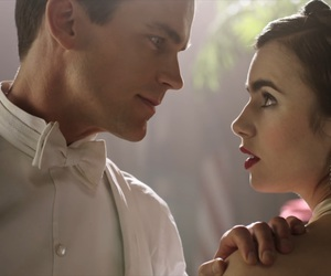 lily collins, matt bomer, and the last tycoon image