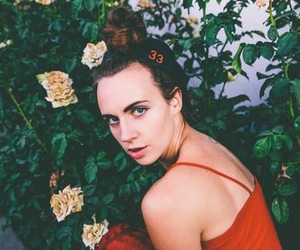 mø, flowers, and singer image