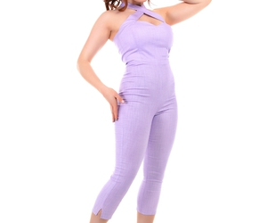 jumpsuit, pinup girl, and collectif image