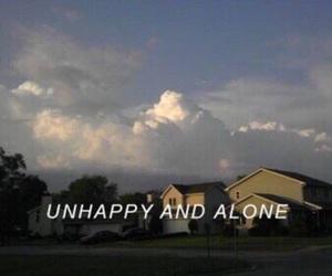 alone, unhappy, and sad image
