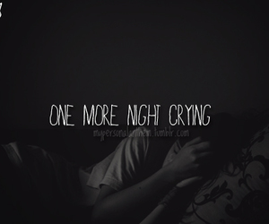 quote and crying image