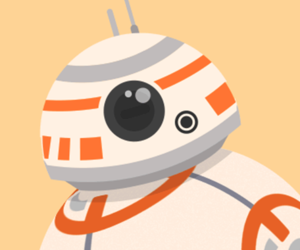 bb-8, star wars, and wallpaper image