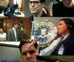 criminal minds and aaron hotchner image