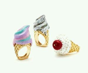 ice cream, accessories, and fashion image