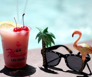 drink, Las Vegas, and summer image