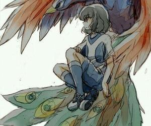bird, inazuma eleven go, and draw image