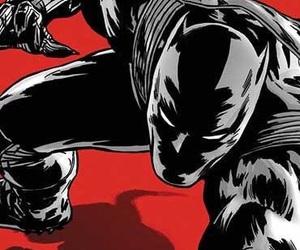 black panther, civil war, and Marvel image