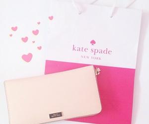 hearts, kate spade, and kawaii image