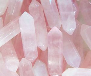 pink, crystal, and background image