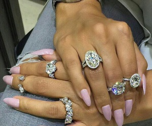 chic, diamonds, and expensive image