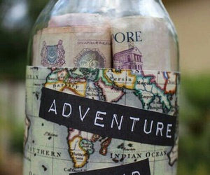 travel, adventure, and money image