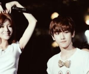 sooyoung, baekhyun, and exoshidae image