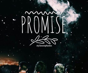 promise, one direction, and one image