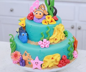 food, cake, and nemo image