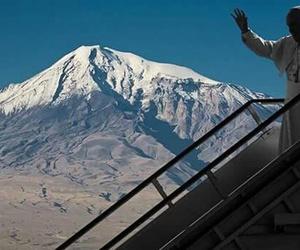 ararat, pope in armenia, and armenia image