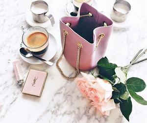 bag, pink, and rose image