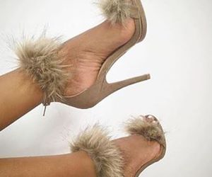 beige, fluff, and fashion image