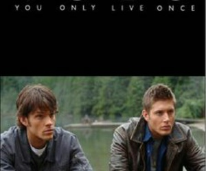 supernatural, yolo, and dean winchester image