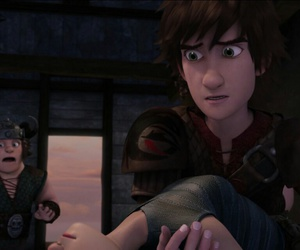 astrid, dragons, and hiccup image
