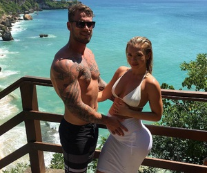 tammy hembrow, reece hawkins, and pregnant image
