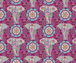 bohemian, boho, and elephant image