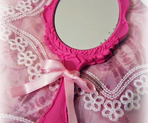 hand painted, mirror, and pastel image