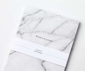 white and marble image