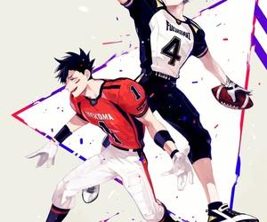 haikyuu, anime, and bokuto koutarou image