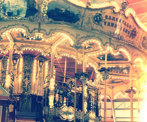 carousel and light image