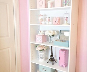 chic, glam, and shelves image