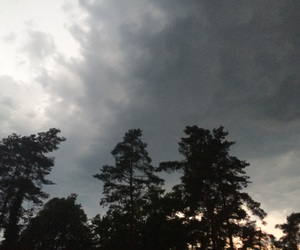 rain, summerrain, and thunderstorm image