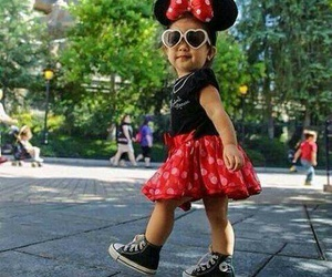 converse, fashion, and minnie mouse image