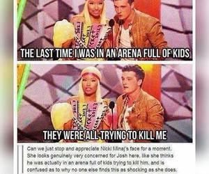 funny, the hunger games, and josh image