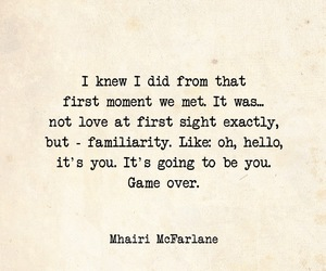 first, moment, and love at first sight image