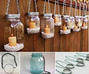diy, candles, and creativity image